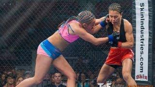 Tuff-N-Uff  Female MMA Kaiyana Rain Vs Jordan Gaza May25th, 2012