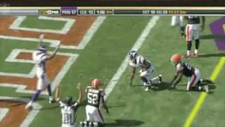 Percy Harvin 2009-2010 season highlights