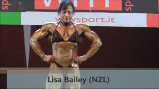 Lisa Bailey (NZL), NABBA Worlds 2013