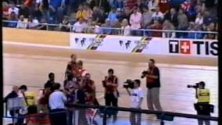 2005 UCI Track Cycling World Championships - Womens Match Sprint (Pendleton vs Abassova)