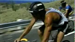 1986 Hawaii Ironman Triathlon Bike Section - Dave Scott - Mark Allen