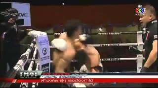 Antoine Pinto VS Sharos Huyer (72kg)ไทยไฟต์  22 Dec 2013