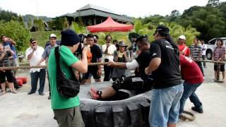 HONESTY ANGANDOI WON FULL POINTS IN TRUCK PULL STRONGMAN CONTEST