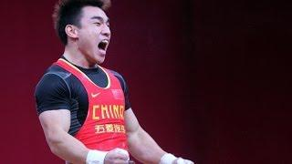 2013 World Weightlifting Championships Men's 69 Clean and Jerk, Liao Hui