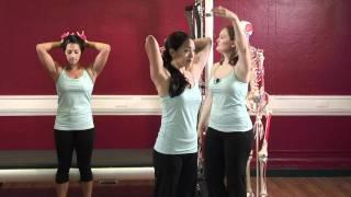 Upside-Down Pilates - Intermediate Arms - Pilates Workout 45 - Part 2 Of 4 - HD