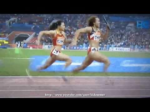 Womens Relay - Asian Games 2010 Guangzhou - Women's 4x100m Relay Final