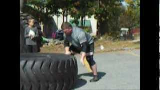 Smitty's First Strongman Contest (tire/sled Medley)