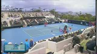 Marina Erakovic vs Kirsten Flipkens, Hobart International 2014 - Full match