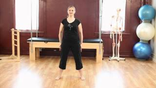 Upside-Down Pilates - Prenatal Pilates - Lesson 55 - Part 2 Of 4 - HD