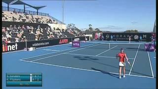 Storm Sanders vs Kirsten Flipkens. Hobart International 2014 - Full Match