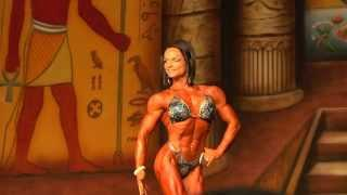 Nicole Ball - Competitor No 77 - Prejudging - IFBB Pro Women's Physique - Dallas Europa 2013