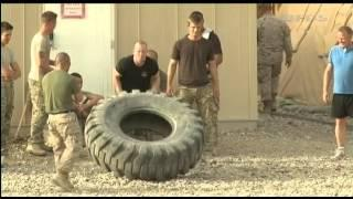 The Strongman Stars Of Camp Leatherneck 09.05.12