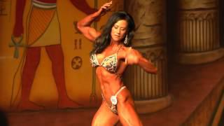 Karin Hobbs - Competitor No 86 - Prejuding - IFBB Pro Women's Physique - Dallas Europa 2013