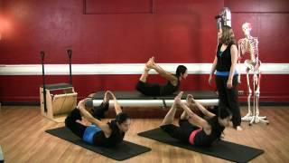 Upside-Down Pilates - Advanced Level Abdominal - Lesson 46 - Part 3 Of 4 - HD