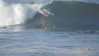 Big Wave Surfing San Diego Friday January 6 2012.