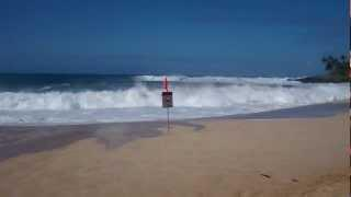 Big Waves At Oahu, Hawaii, North Shore, Dec. 30, 2012.mp4