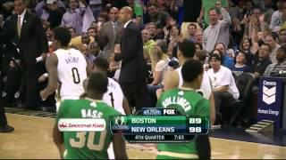 Anthony Davis 40 points vs Celtics - Full Highlights (2014.03.16)