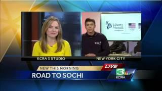 Road To Sochi: Short Track Speed Skater JR Celski
