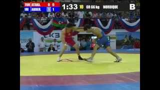 Saeid Abdevali (Iran) vs Yueksel Atakan (Turkey) 66kg 2012 Greco Roman World Cup FINAL