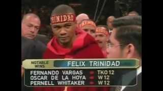 Felix Trinidad vsRicardo Mayorga[Full Fight]