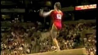 US Gymnastics Olympic Trials (1996-2008) Falls Montage