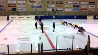 Speed Skating : Chinese National Team, Practice Drill
