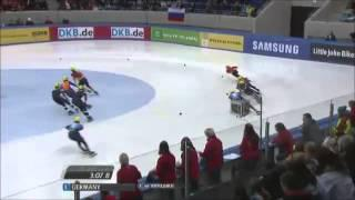 Short Track - ISU European Championship 2013/2014 - 5000m Relay Men Final