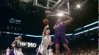 Gerald Green huge psoter dunk on Mason Plumlee (2014.03.17)