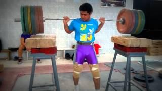 Mohamed Ehab 230kg / 507 lbs Squat in slow motion