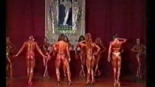 1999 NABBA World Championships: Figure 1 (Tall) Pre-Judging