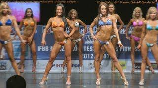2012.10.07 Weider IFBB WOMEN's BodyFitness, Bikini Fitness Model - Millenáris, Budapest. HD