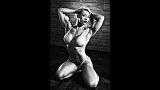 Female Muscle Susanna Tirpak Photoshooting Video Part 6.