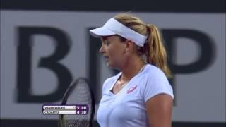WTA Indian Wells Vandeweghe bt Cadantu 6 4 6 0
