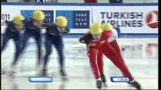 WU Erzurum 2011 Day 2: Short Track Speed Skating 1500 M Final