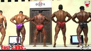 Amateur Mr Olympia category up to 80kg