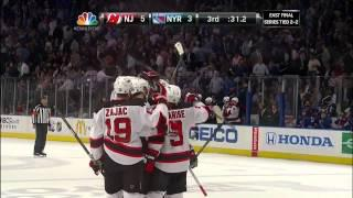 Zach Parise Empty Net Goal 5/23/12 Devils @ Rangers NHL Playoffs