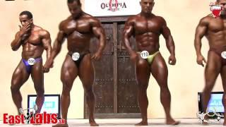 Amateur Mr Olympia category up to 90kg