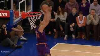 Gerald Green sick reverse jam on the Knicks (2014.0113)