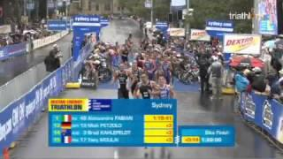 2011 Sydney Men - Dextro Energy Triathlon ITU World Championship Series Sydney