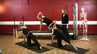 Upside-Down Pilates - Resistance Band - Lesson 47 - Part 4 Of 4 - HD