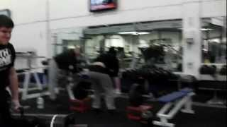 Me doing 90kg (each hand) Farmers Walk
