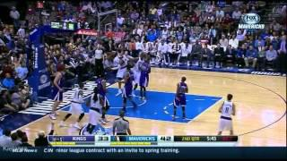 Vince Carter nice one-hand dunk on the Kings (2014.01.31)