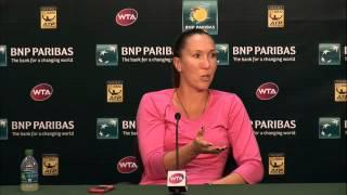 BNP Paribas Open: Jelena Jankovic Fourth Round Press Conference