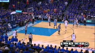 Russell Wesbtrook triple-double vs Grizzlies - Full Highlights (2014 NBA Playoofs GM7)