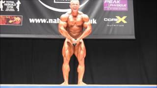 Slavoj Bednar (CZE), NABBA Worlds 2014, Professionals - Place 3