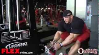 Bodybuilder Big Ramy Back Workout 3 Weeks From 2013 Mr Olympia!!!