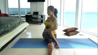 Yoga for a Better Digestion. Poses to help bloating and constipation