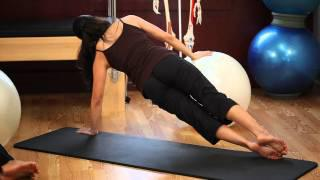 Upside-Down Pilates - Exercise Ball - Lesson 53 - Part 3 Of 4 - HD