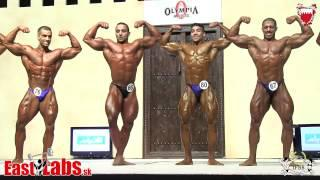 Amateur Mr Olympia category up to 75kg