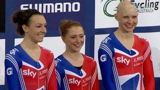 British Women sets new Track World Record - from Universal Sports